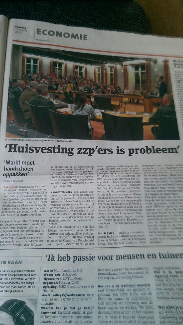 ZieZo! | Gemeente Barneveld verbindt ondernemers